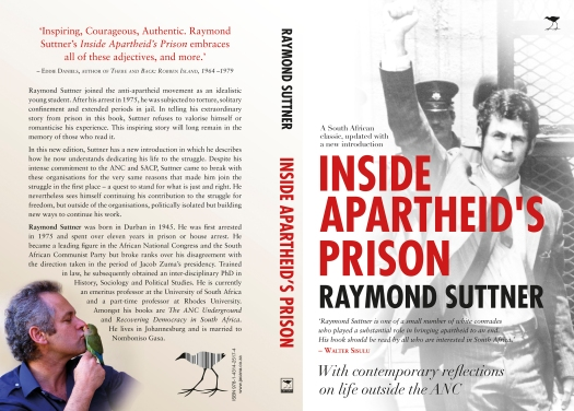INSIDE APARTHEID PRISON COVER SPREAD
